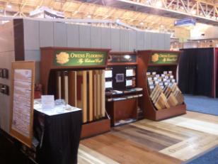 trade show interior display