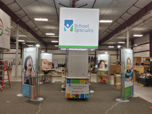 trade show school & speciality display