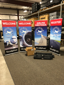 trade show welcome display